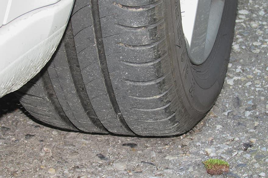 Inadequate Tire Pressure